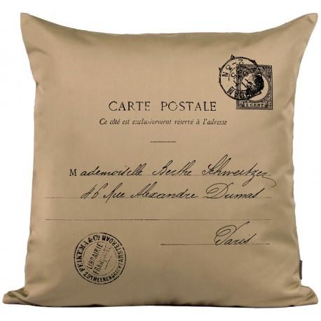 Beżowa poduszka French Home ze 100% Bawełny