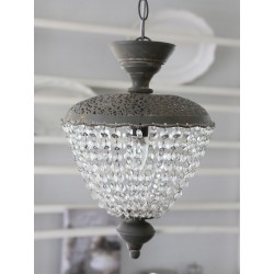 Lampa z Kryształkami Vintage Chic 2