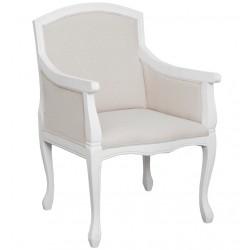 Krzesło Prowansalskie Białe 2