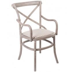 Krzesło Prowansalskie z Podłokietnikami Venezia