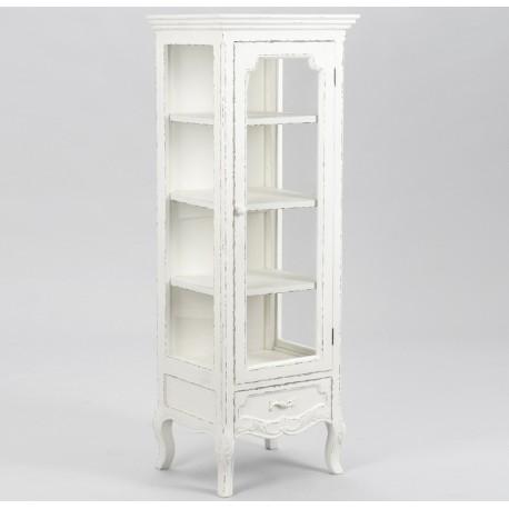 Biała witryna w stylu francuskim