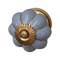 Gałki do Mebli Niebieskoszare Chic Antique