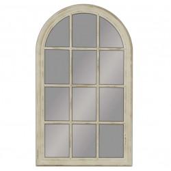 Lustro Prowansalskie Okno Kremowe 1