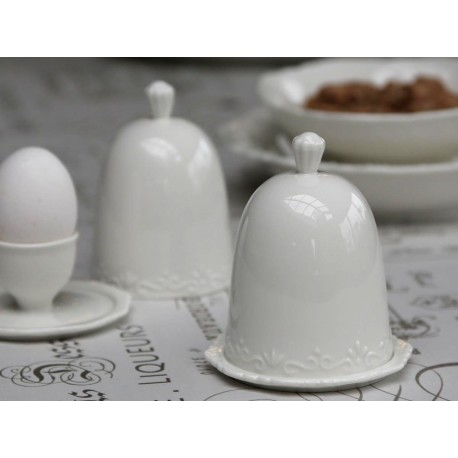 Kieliszek do jajka z przykrywką