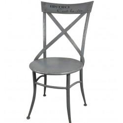 Metalowe Krzesło Bistro
