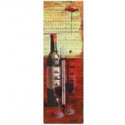 Termometr Retro Wino