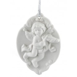 Aniołek porcelanowy ROSENTALO rozm.9,5x7x2cm.