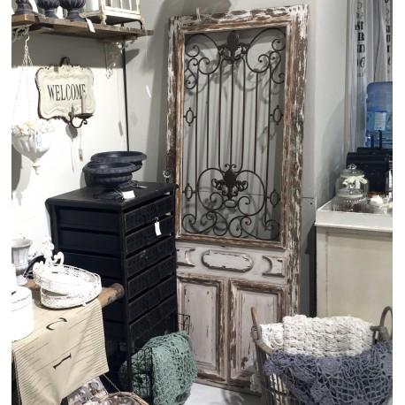 Dekoracyjne drzwi prowansalskie