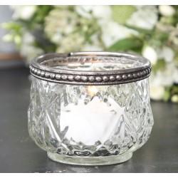 Szklany Świecznik Na Tealight