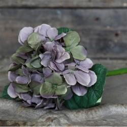 Kwiaty Sztuczne Hortensja Fioletowe