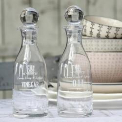 Butelki na Oliwę i Ocet