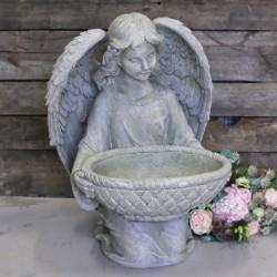 Anioł z Misą Garden Chic