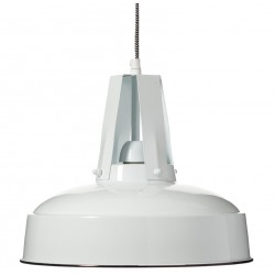 Metalowa Lampa Aluro Flux Biała