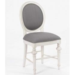 Krzesło Tapicerowane Przecierane Lindi