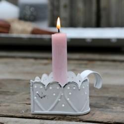 Świecznik Prowansalski Serce