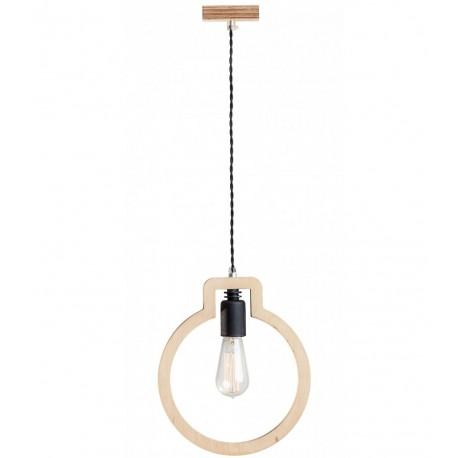 Lampa Skandynawska Bulb Czarna