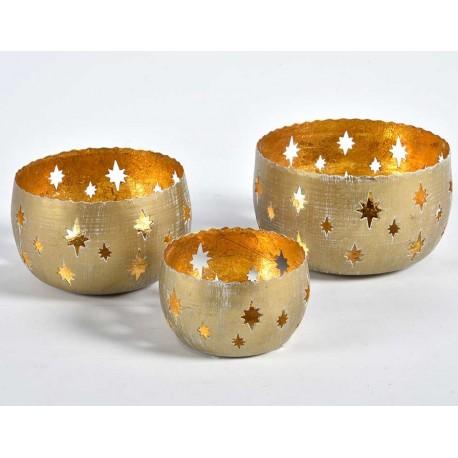 złote lampiony świąteczne