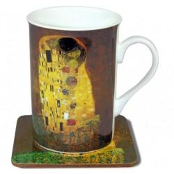 Kubek Gustav Klimt z Podkładką