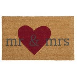 Wycieraczka Kokosowa Mr & Mrs