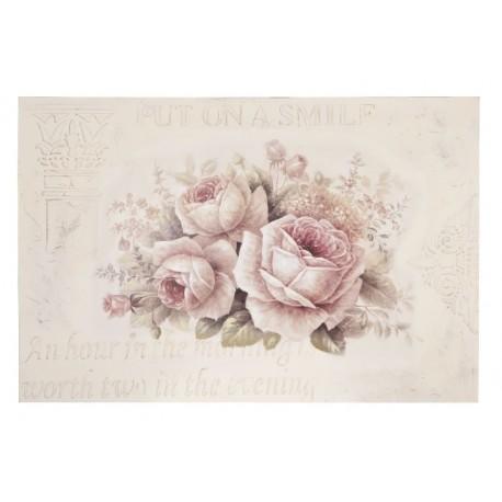 jasny obraz z motywem róż