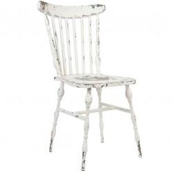 Metalowe Krzesło Shabby Chic