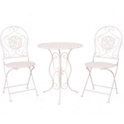Meble Ogrodowe Prowanalskie Stolik z Krzesłami