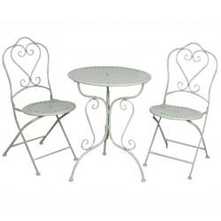 Meble Ogrodowe Prowanalskie Stolik z Krzesłami 1