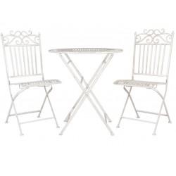 Meble Ogrodowe Prowanalskie Stolik z Krzesłami 2