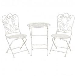 Meble Ogrodowe Prowanalskie Stolik z Krzesłami 3