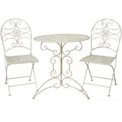 Meble Ogrodowe Prowanalskie Stolik z Krzesłami 4