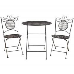 Meble Ogrodowe Prowanalskie Stolik z Krzesłami 5