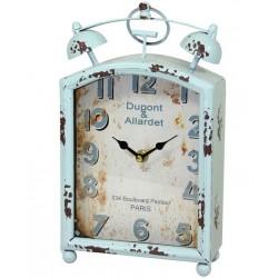 Zegar z Mapą Metalowy