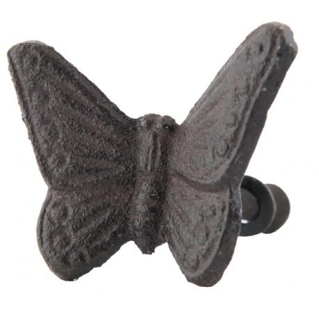 Gałki Meblowe Żeliwne Motyl