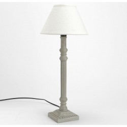 Lampa w Stylu Prowansalskim Szara 3