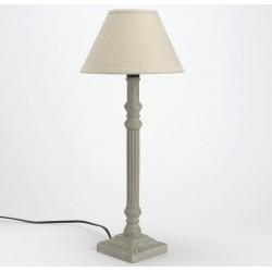 Lampa w Stylu Prowansalskim Szara 2