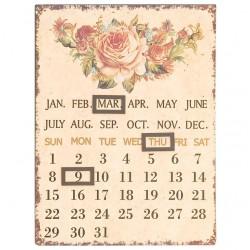 Kalendarz Retro Róże
