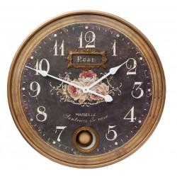 Zegar w Stylu Francuskim z Wahadłem