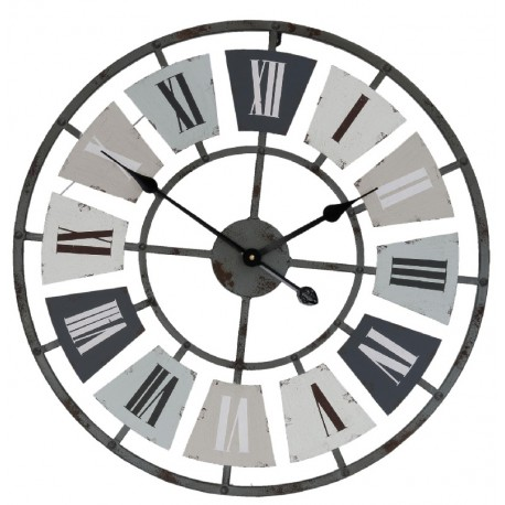 Zegar Metalowy Loftowy