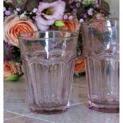 Szklanka Chic Antique Różowa B