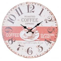 Zegar z Kawą