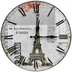 Zegar z Wieżą Eiffla