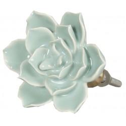 Gałki Meblowe Kwiatek Zielony