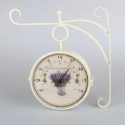 Zegar Dworcowy z Termometrem