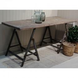 Stół Industrialny Chic Antique