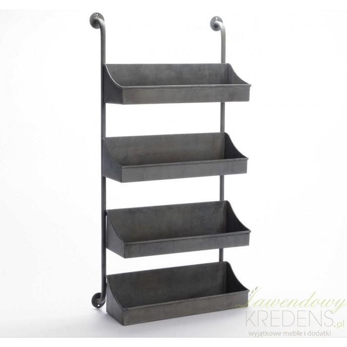 Metalowe Półki ścienne Loft