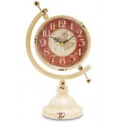 Zegar Globus Stojący Prowansalski