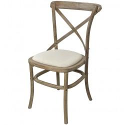 Krzesło w Stylu Prowansalskim Limena