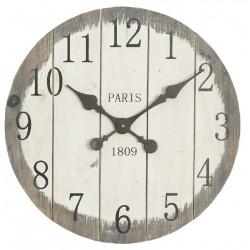 Zegar Prowansalski Drewniany Paris