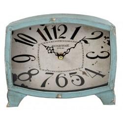 Zegarek Stojący Postarzany Błękitny