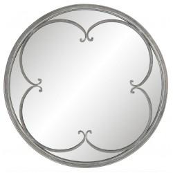 Lustro Okrągłe z Dekorem
